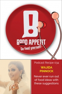 34. Never ever run out of food ideas with these suggestions featuring Wajida Pinnock