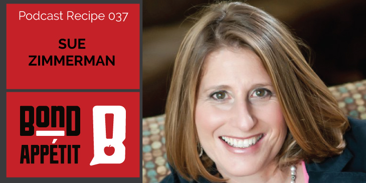 37. How food fuels this entrepreneur of 18 businesses and #TheInstagramExpert with Sue Zimmerman