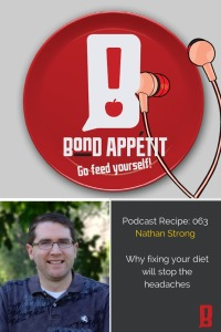 63. Why fixing your diet will stop the headaches with Nathan Strong