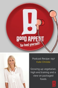 97. Growing up vegetarian, high end training and a view on packaged foods with Tammy Fry