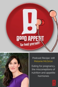 108. Eating for pregnancy, the misconeptions of nutrition and appetite hormones with Melanie McGrice