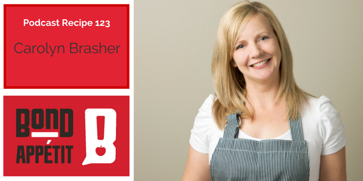 123. Understanding the marketing matrix, being prepared to be messy, recipe organization solutions, and MyFoodBook.com.au with Carolyn Brasher