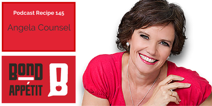 145. The secret to stop storing fat, and how to eat like a high performing mumpreneur with Angela Counsel