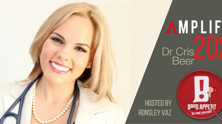202. Rebroadcast: Entrepreneur Food Stuggles Are Solved by Dr. Cris Beer