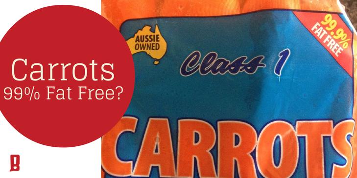 Bond Appetit carrots fat free