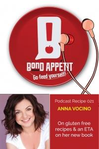21. Anna Vocino on gluten free recipes & an ETA on her new book