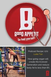 70. How going vegan will create the Evolved Generation and reduce body fat to less than 8% with Luke Tan