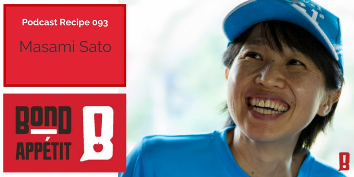 93. Understanding cultures, uniting people and making an impact through food with Masami Sato