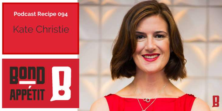 94. How to Time Style your way to making more time to cook your own food with Kate Christie