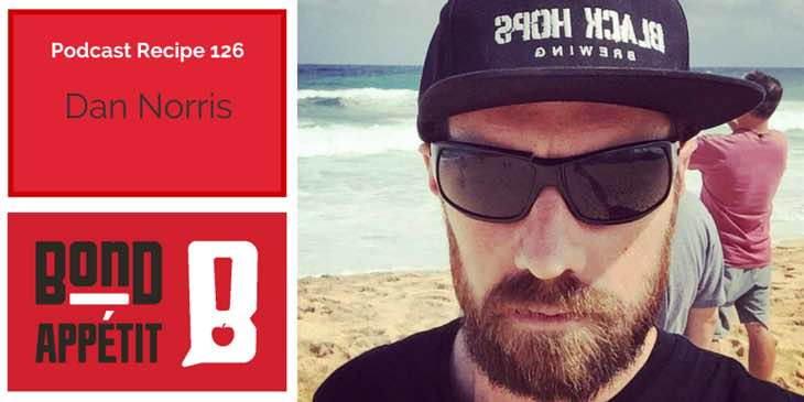 126. Creating multiple businesses, the advatages of podcasting & how to eat like a surfer with Dan Norris