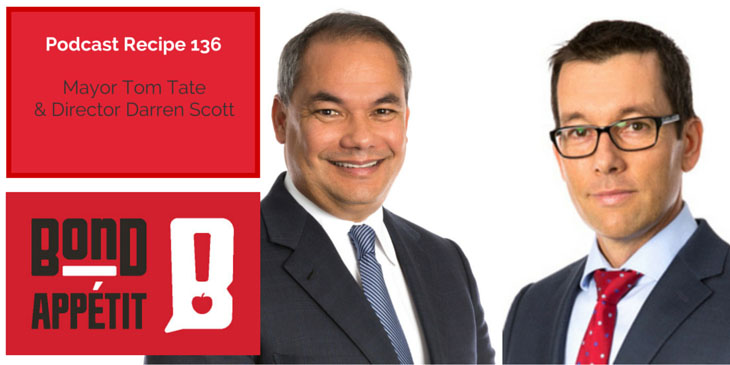 136. Entrepreneurship, Healthy Food Choices and Innovation on the Gold Coast with Tom Tate and Darren Scott