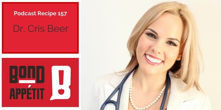 157. Entrepreneur food struggles are solved by Dr. Cris Beer